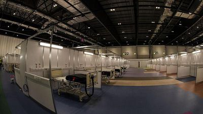 NHS Nightingale: Inside the UK's COVID-19 hospital