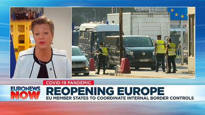 'It's time to open up': EU Home Affairs Commissioner on coronavirus travel bans
