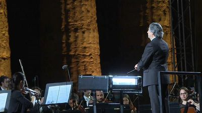 Musicians honour Syrian world heritage site with performance in Italy