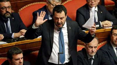 Matteo Salvini: Will Italy's far-right leader lose his parliamentary immunity?