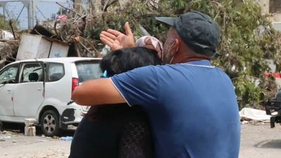 Beirut blast: Distraught families await news of missing relatives