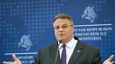 Doing nothing to help Belarus 'is not an option,' Lithuanian FM tells Euronews