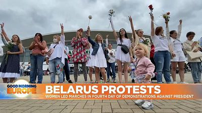 Women protesters in Belarus: 'We can change the country for the better'