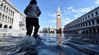 State of emergency declared as flooded Venice braces for more high tides