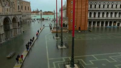Venice mayor says flooded city is 'on its knees'