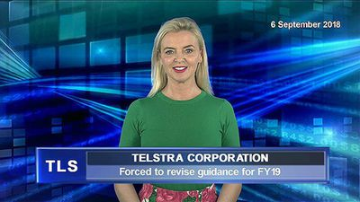 Telstra trims profit forecasts for FY19
