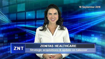 Zenitas Healthcare announces strategic acquisitions, provides update on takeover