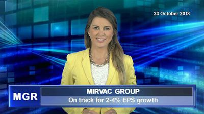 Mirvac on track for 2-4% EPS growth in FY19