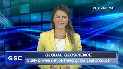 Global Geoscience study proves it's a life-long, low cost producer