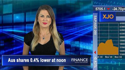 Selling continues, Viva & Medibank fall: Aus shares 0.4% lower at noon