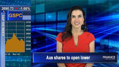 Tech drags down Wall Street: Aus shares to open lower