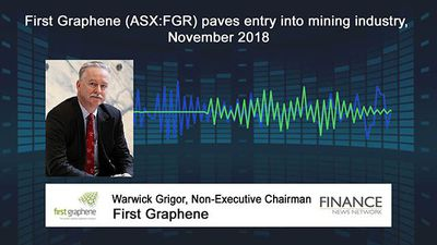 First Graphene (ASX:FGR) paves entry into mining industry