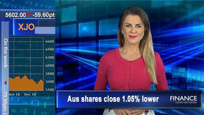 Takeovers & top 100 entries: Aus shares close 1.1% lower Friday