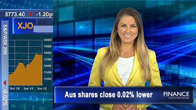 RFG says, not that much for Crust: Aus shares close flat