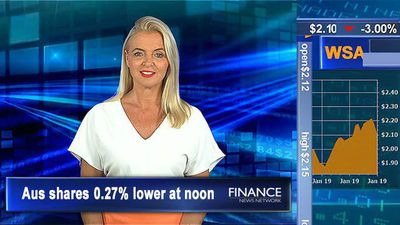 Challenger drops on downgraded earnings: ASX tracking 3% lower at noon