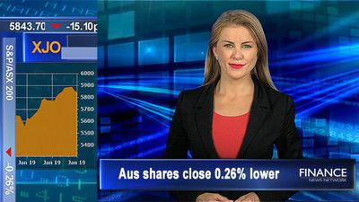 Challenger loses 2-years of gains, eco worries weigh: Aus shares slip 0.3% lower