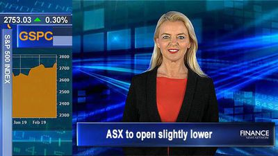 Important figures from reporting companies: ASX to open slightly lower