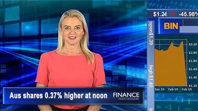 Bingo's shares slump on building slowdown: ASX 0.4% higher at noon