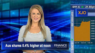 Financials rally despite 'Protecting your Super Bill' passing through house: ASX200 0.4% higher at n