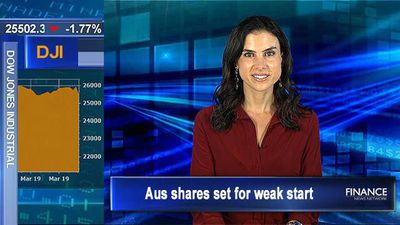Global growth fears push US stocks lower: Aus shares set for weak start