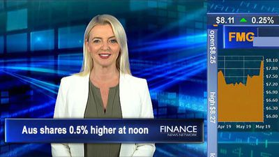 Wage Price Index rises 0.5% in the March quarter: ASX 0.5% higher at noon