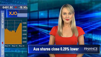 Iron ore above US$105: Aus shares close 0.3% lower