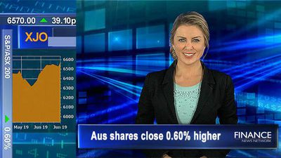 ASX shrugs off weaker than expected property data, Fed meets: Aus shares close 0.6% higher