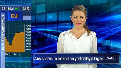 Aus shares to extend on yesterday's highs, Wall St rallies on Fed optimism
