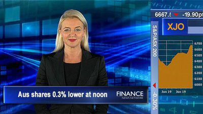 Energy sector leading the way: ASX 0.3% lower at noon
