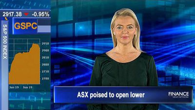 Fed talk sends US stocks lower: ASX poised to open lower
