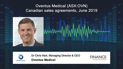 Oventus Medical (ASX:OVN) Canadian sales agreements