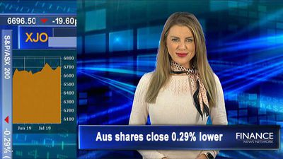 Materials, Financials weigh on ASX: Aus shares lose 0.3% Friday, 0.8% on week