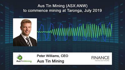 Aus Tin Mining (ASX:ANW) to commence mining at Taronga