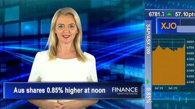 All Ords hits all time high, breaks 2007 record: ASX tracking 0.9% higher at noon