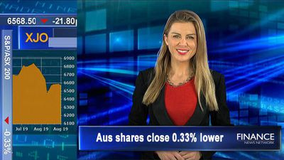 ASX snaps four-day winning streak but gold shines bright: Aus shares close 0.3% lower
