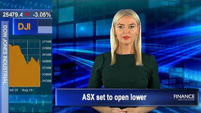 Dow plunges, Europe stocks fall: ASX set to open lower