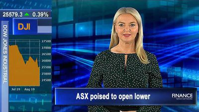 Treasury note yield plummets: ASX poised to open lower