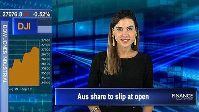 Wall St lower on global economic growth concerns, oil surges: Aus share to slip at open