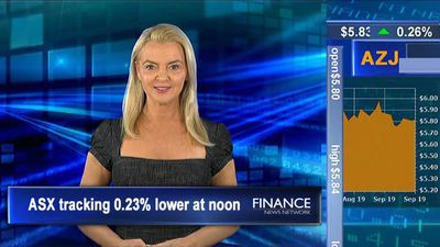 House prices fall in June quarter: ASX is 0.2% lower at noon