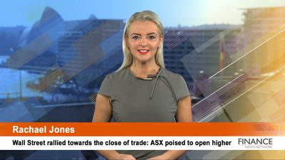 Wall Street rallied towards the close of trade: ASX poised to open higher