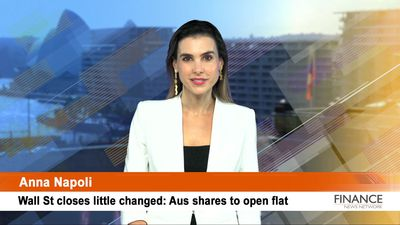 Wall St closes little changed: Aus shares to open flat