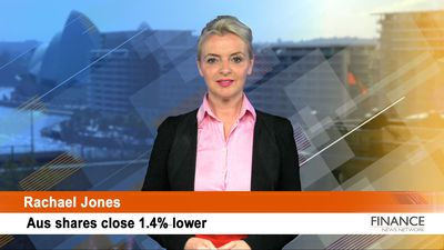 Banks down as Westpac (ASX:WBC) is accused of breaching anti-money laundering laws: ASX closed 1.4%