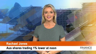Shares in Ooh!Media (ASX:OML) shoot up on earnings upgrade: ASX tracking 1.5% lower at noon