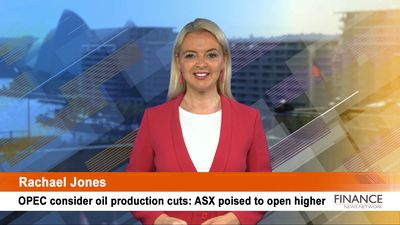 OPEC consider oil production cuts: ASX poised to open higher