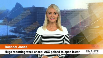 Huge reporting week ahead: ASX poised to open lower
