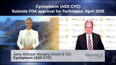 Cyclopharm (ASX:CYC) submits FDA approval for Technegas