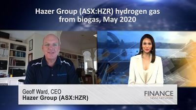 Hazer Group (ASX:HZR) - hydrogen gas from biogas