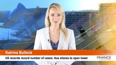 US records record number of cases: Aus shares to open lower