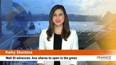 Wall St advances: Aus shares to open in the green