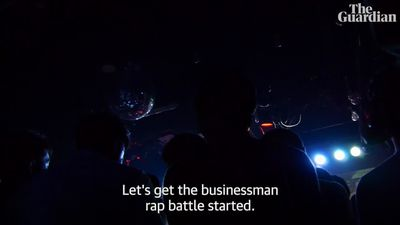 The underground rap battle for Japanese businessmen